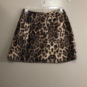 Never Worn Cheetah Print Skirt